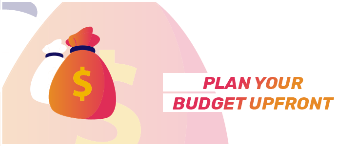 pre plan budget for slots